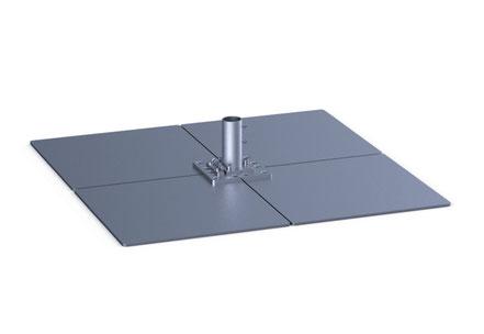 may Sonnenschirm SCHATTELLO Stahlplatten