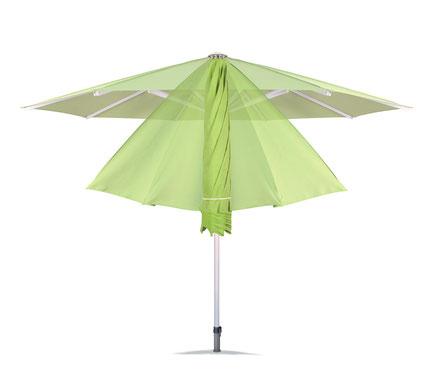 may Sonnenschirm Filius grün ohne Volant FINK Sonnenschirme Großostheim