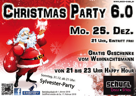 plakat christmas party 2017
