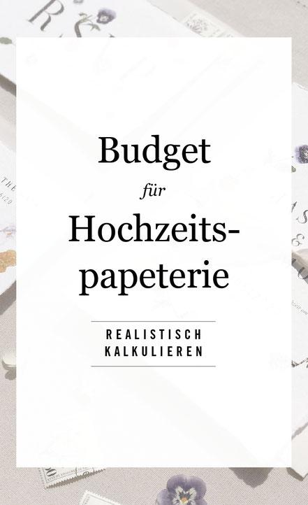 Was kostet Hochzeitspapeterie? Ein kleiner Guide von studio vanhart – Papeterie & Design | www.studiovanhart.de