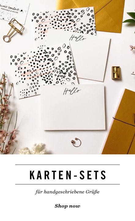 studio vanhart – Papeterie & Design www.studiovanhart.de / Briefpapier&Karten-Sets