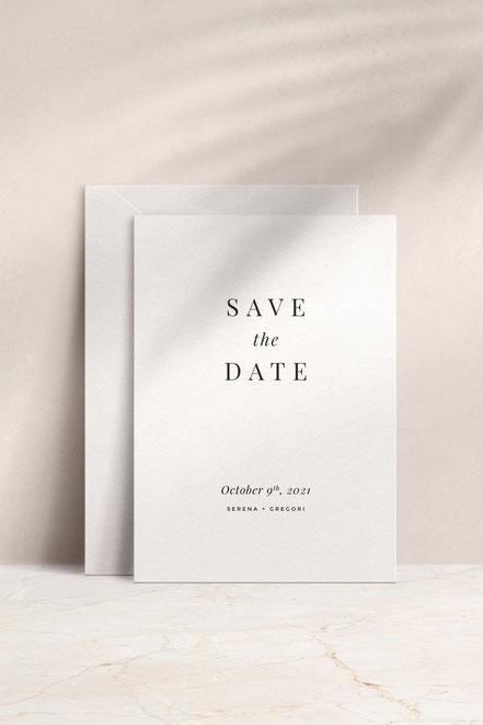 Individuelle Hochzeitspapeterie, Einladungen, Save-the-date-Karten von studio vanhart – www.studiovanhart.de