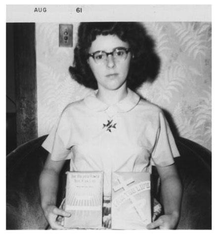 Lora im Jahre 1961 mit 23 Jahren in Canada