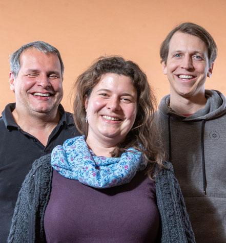 Christoph Aretz, Jutta Büker, Moritz Lörcher