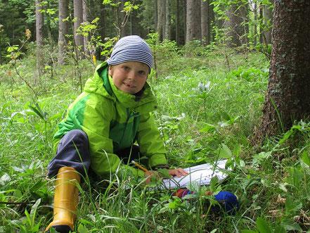 Die Liebe zur Natur schon als Kind lernen!
