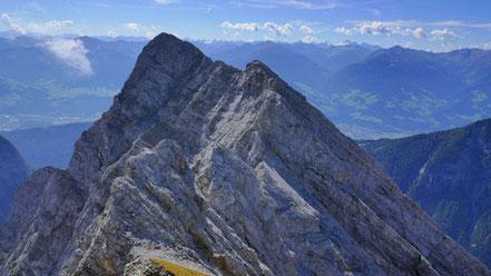 Huderbankspitze - Kaiserkopf - Hochglück - Klassische lange Karwendel-Grattour