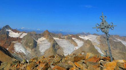 Östliche Seespitze - Weiter Weg auf einen hohen Stubaier