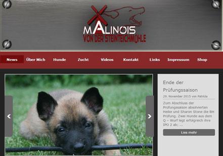 Malinois von der Steinteichmühle