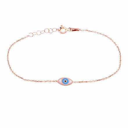 Sueños Jewellery 925 Silberschmuck Armkettchen Nazar minimal