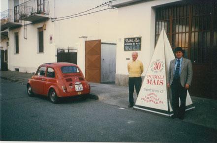 Michele Mininni and Vinicio celebrate 30 years of activity.