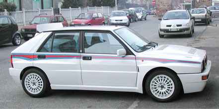 lancia delta martini 6 livery sticker kit