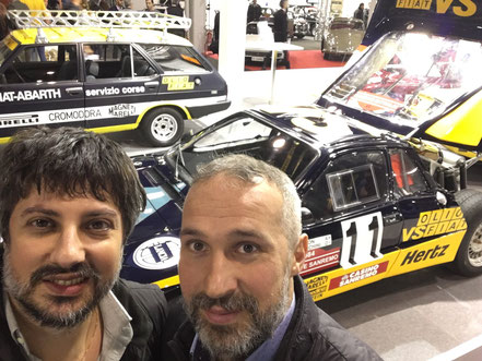 Lancia rally 037 grifone rally sanremo 1984 tabaton tedeschini presso Girardo & co., adesivi sticker decalogo realizzati da pubblimais a torino