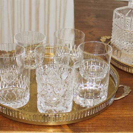 Whiskygläser Vintagegläser Kristallgläser