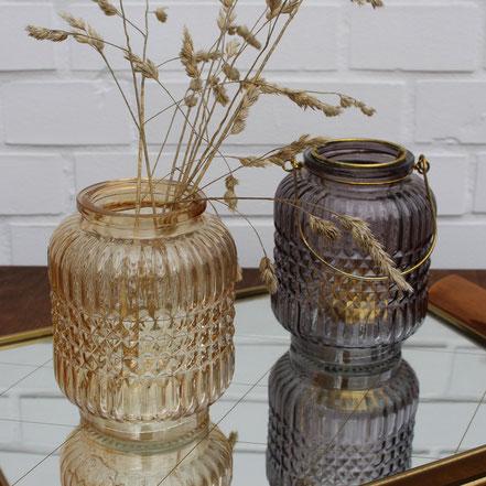Teelichthalter Vase
