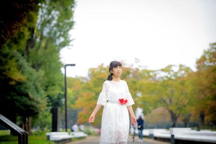 ヒーリングボイス天貝観姫の写真です。