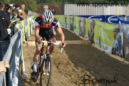 stevens racing team at cyclocross race in hamburg horn