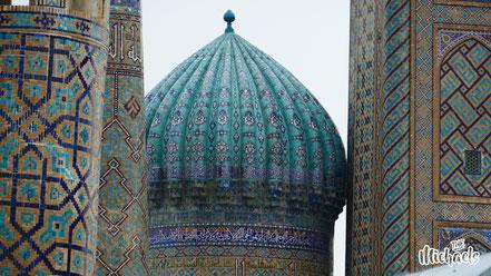 Blaue Moschee, The Michaels, Samarkand, Seidenstrasse, Registan
