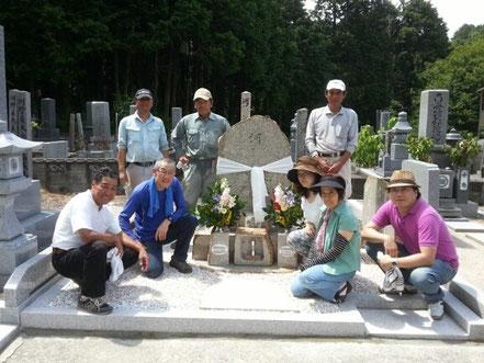 亡き妻の為にお墓づくり物語2013.7