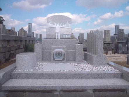 洋墓「ありがとう」:岡山市