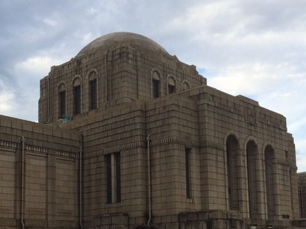 聖徳記念絵画館改修工事加工