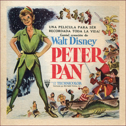 Programa de mano Peter Pan