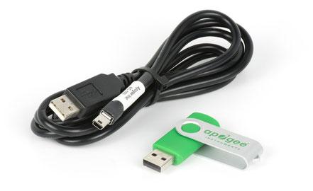 Câble de communication pour capteur UV distribué par Agralis