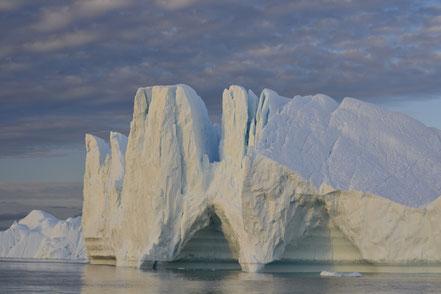Eisberge in allllllen Formen und Farben...
