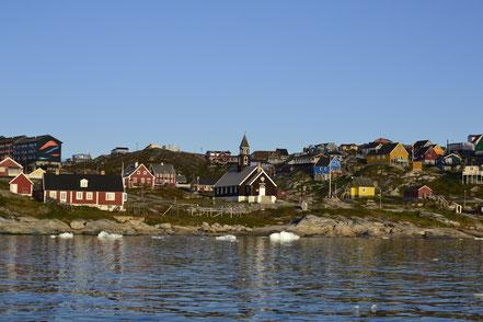 Die Kirche von Ilulissat gehört zu den ältesten Gebäuden im Land