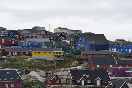 ...  die Wohnrealität der Grönländer sieht so aus!