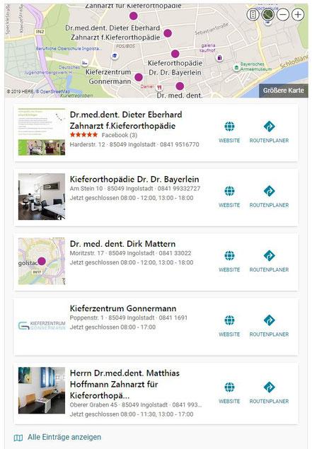 Bing Optimierung Geschäftseintrag - seo-webseiten-beratung.de