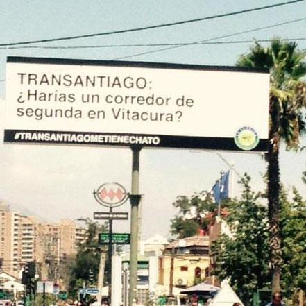 Campaña #transantiagometienechato