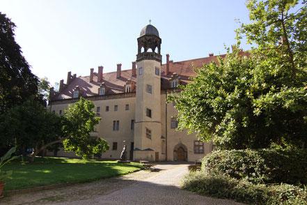 Das schwarze Kloster, wo Martin und Käthe Luther wohnten.