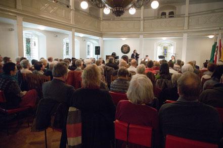 Mit diesem großartigen Publikum noch eindrucksvoller.