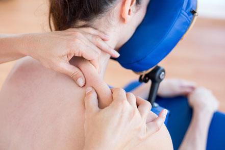 Sehr hohe Qualität oder hohe Qualität der Massage von BODYALARM, dies sagen Mitarbeitende unserer Kunden.