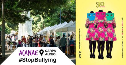 ACANAE en la XXX Feria del Libro en Santa Cruz de Tenerife