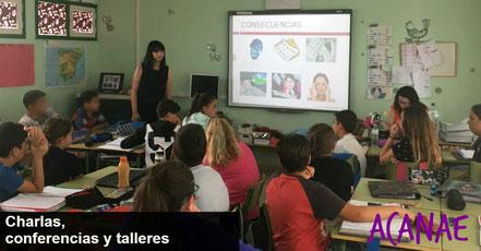 Charlas, conferencias y talleres sobre bullying / acoso escolar en Canarias