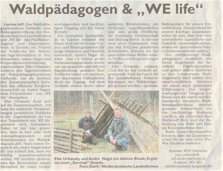 """General-Anzeiger_2021-04-10.11: """"Waldpädagogen und WE life"""