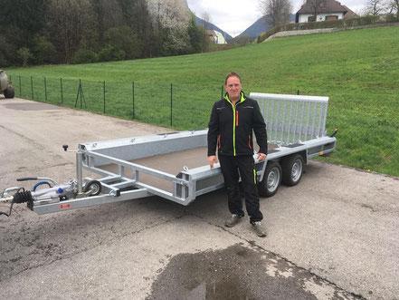 HENRA Baggertransporter nach Kolsass