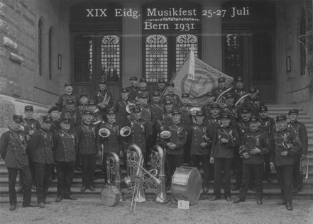 Am Eidg. Musikfest 1931 in Bern