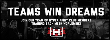 Join our TEAM Hyper Fight Club Oldenburg