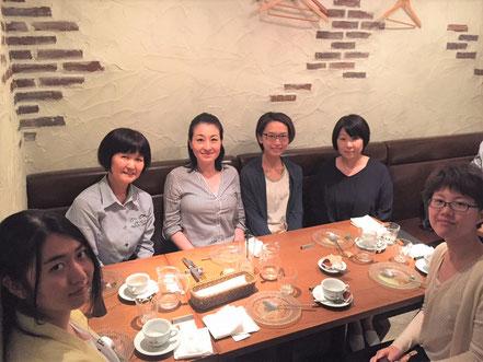 5/2 当分野の非常勤講師である文京学院大学西尾美和子先生を囲んでのランチ@Quel 本郷三丁目。今年度もよろしくお願いいたします。
