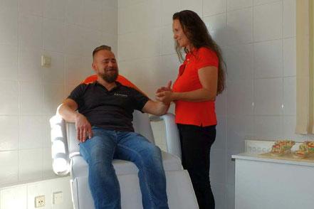 Diagnostik in meiner Heilpraktiker-Praxis von Yvonne Geistert in Grimma bei Leipzig