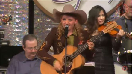 Kristyn Harris - Yodelin' Fever - when the cowboy sings