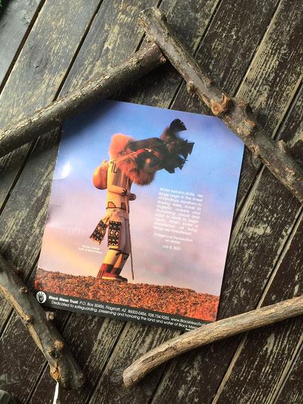 ブラックメサの帯水層と環境を守るために立ち上げられた活動体、ブラックメサトラストのポスター