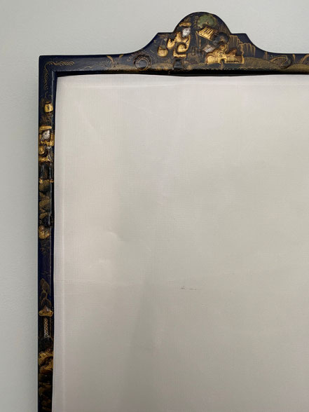 English Chinoiserie Mirror circa 1920