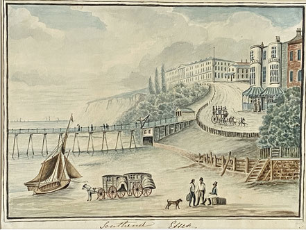 Southend Pier and Sea Front early 19th c