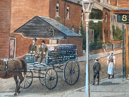 The Meaby Bakery, 1898, Reading