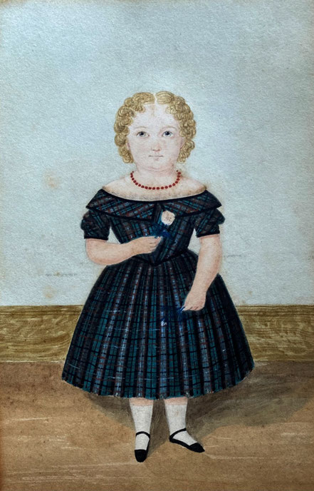The White Family miniatures painted by Caleb Wing 1843-1850