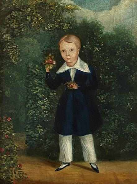 Miniature Watercolour of James Barsham Dean
