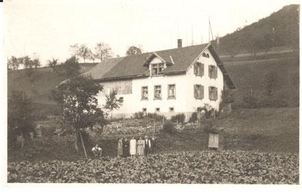 Das oberste Haus an der Kienbergstrasse ist jenes der Familie Frey.